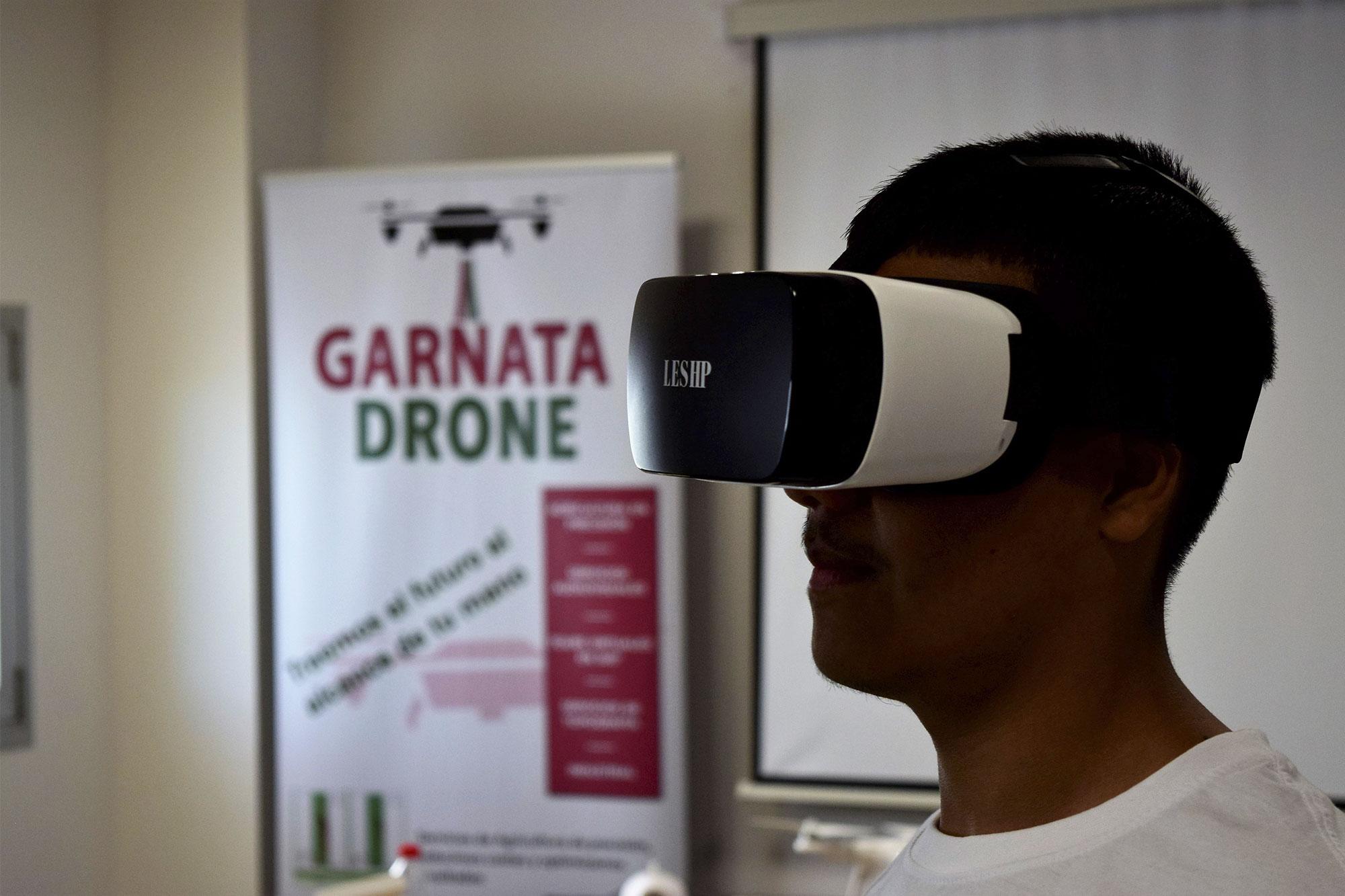 Garnata drone ofrece servicios de realidad-virtual