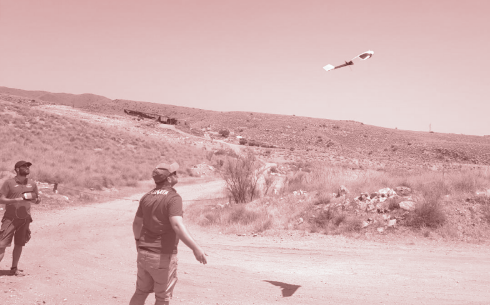 trabajos agroforestales con dron ala fija